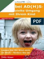 Ratgeber AD(H)S - Leseprobe