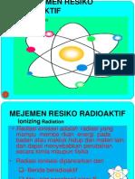 Vii.baru Mejemen Resiko Radioaktif