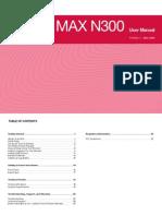 Belkin Router Manual f7d7301 8820-00699 Sharemaxn300