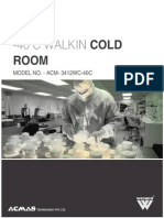 -40 C Walkin Cold Room