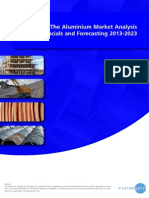 The Aluminium Market Analysis, Financials and Forecasting 2013-2023