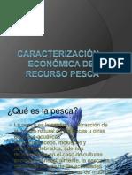 Caracterización económica del recurso pesca