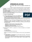 COMPRENSIÓN DE LECTURA seleccion