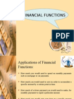 Financial Functions Used in Ms-excel