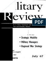 Military Review July 1967