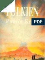 JRR Tolkien Wladca Pierscieni Powrot Krola