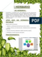 Concepto de Herbario
