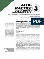 Practice Guidelines Acog Bulletin 102
