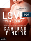 FOR LOVE OR VENGEANCE Paranormal Romantic Suspense