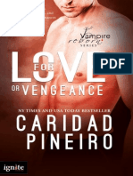 FOR LOVE OR VENGEANCE Paranormal Romantic Suspense