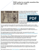 Spying - WiFi Radar to Monitor People Through Walls.pdf