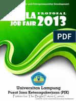 Proposal Unila Job Fair 2013