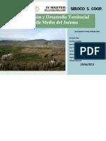Plan de Ordenación y Desarrollo Territorial Sostenible del Valle Medio del Jarama-2013 (Versión web)