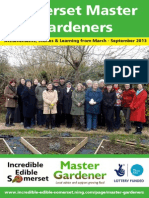 Somerset Master Gardeners Report