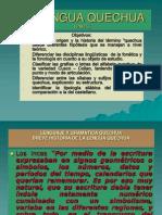 La Lengua Quechua