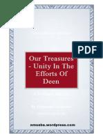 OurTreasures-UnityInTheEffortsOfDeenByHazratMaulanaAbdulHamidIshaqdaamatBarakaatuhum