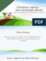 Construir Valores Numa Sociedade Plural