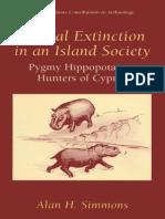 Simmons Faunal Extinction in an Island Society - Pygmy Hippopotamus Hunters of Cyprus, 1999