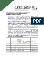 EDITAL JUSTIFICATIVA AQUISIÇÃO ALIMENTOS PROGRAMA DO LEITE