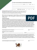 Landeck Turkey Trot Registration Form