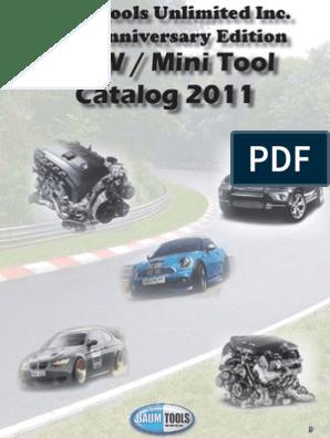 BMW / Mini Tool Catalog 2011
