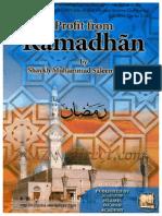 ProfitFromRamadhanByShaykhMuhammadSaleemDhorat