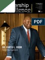 Dr. Curtis L. Odom - September 2013 Leadership Excellence Talent Management Article