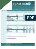 Weekly Market Briefing (October 14, 2013)
