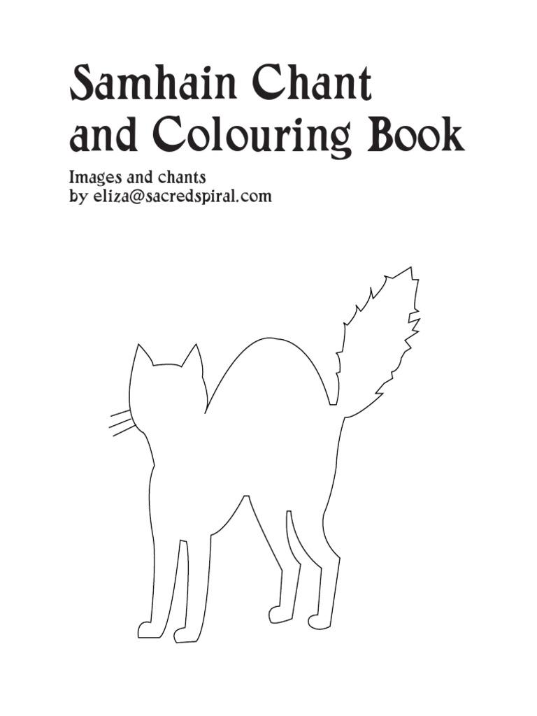 Samhain Coloring Book