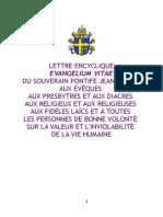 Evangelium vitae - franáais