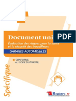 m031-Doc Unique Evaluation Des Risques - Garagistes Extrait