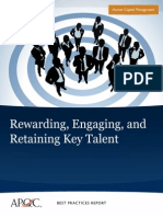 Rewarding, Retaining Talent