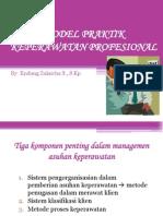 Model Praktik Keperawatan Profesional (1)
