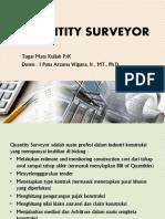 Quantity Surveyor, peran fungsinya