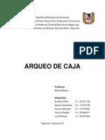 TRABAJO ARQUEO DE CAJA-70,ºº