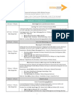 FI2020 Global Forum - Agenda as of Oct 16