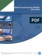Global Cloud Security Market 2013-2018