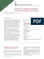 10. Protocolo diagnóstico y manejo terapéutico de las agudizaciones de insuficiencia cardiaca