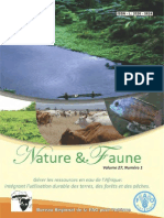 Nature & Faune - Améliorer la gestion des ressources naturelles pour la sécurité alimentaire en Afrique - Volume 27, Numéro 1 (FAO - 2012)