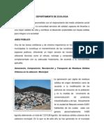 INFORME ECOLOGIA 2012
