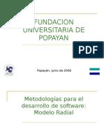 Metodologias para el desarrollo de software » Modelo Radial