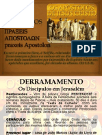 ATOS DOS APOSTÓLOS - AULA 3