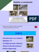 Robótica Modular y Locomoción. UAM-2008