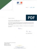 courrier réponse Moscovici Sté Générale