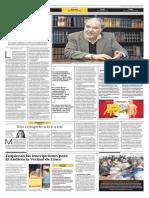 La gente lee a Vargas Llosa, pero no lee la Constitución