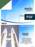 Microsoft Power Point - MSC Malaysia SSO Presentation
