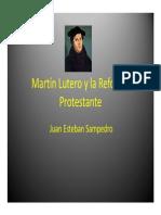 Unidad 8 Martín Lutero - Juan Esteban Sampedro