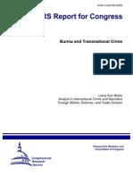 Burma and Transnational Crime