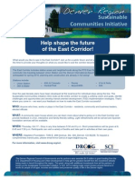 East Corridor Open House