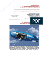 Why Aerial Advertising? White Paper Case Study